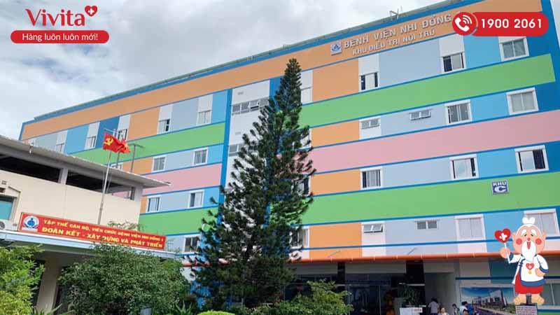Khu điều trị nội trú của bệnh viện mới được tu sửa