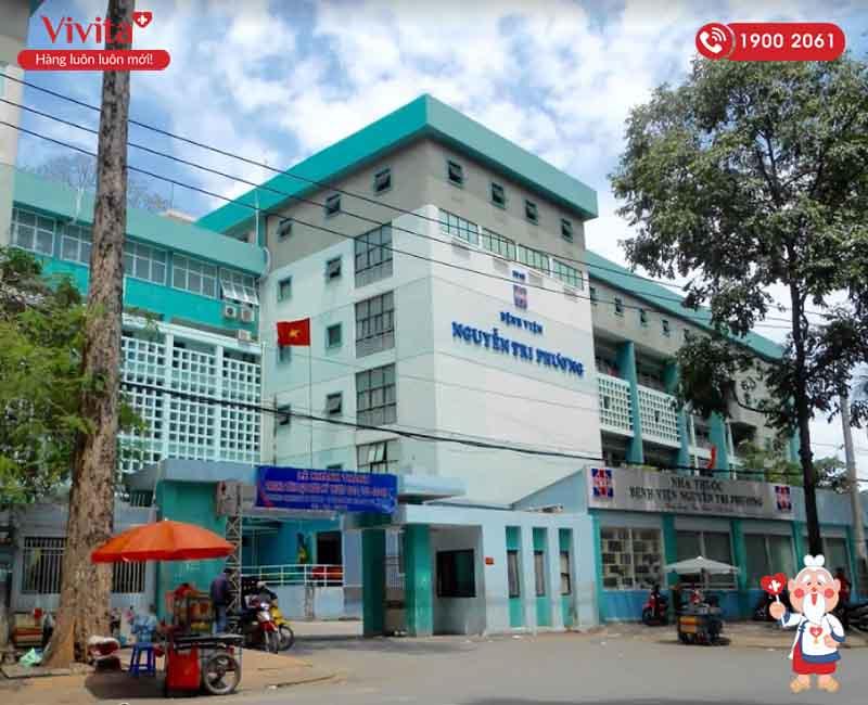 Bệnh viện Nguyễn Tri Phương nơi bác sĩ Phương công tác