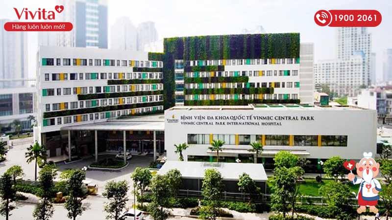 Toàn cảnh bệnh viện Đa khoa Quốc tế Vinmec Central Park