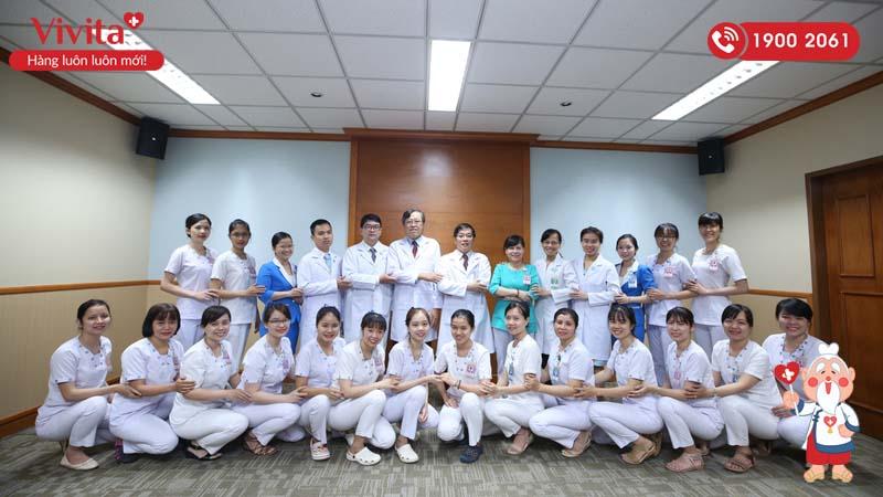 Đội ngũ nhân viên y tế khoa Hậu môn - Trực tràng của bệnh viện