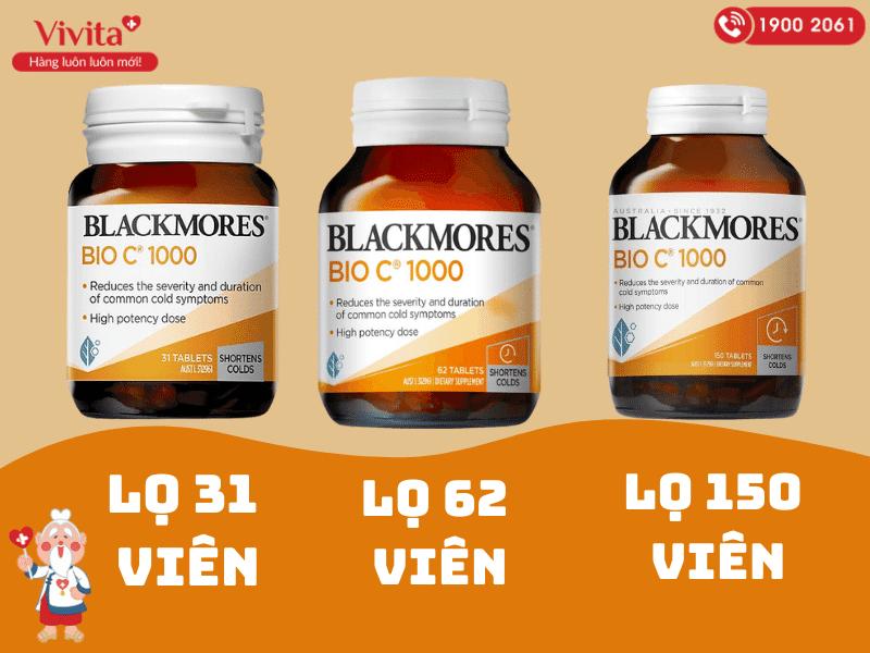 Viên uống bổ sung vitamin C Blackmores Bio C 1000mg được xem là một nguồn cung cấp vitamin C an toàn và đầy đủ cho cơ thể.