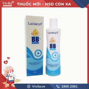 Sữa tắm chống rôm sảy Lactacyd BB