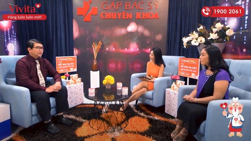 ThS.BS Lê Châu Hoàng Quốc Chương tư vấn sức khỏe trên truyền hình