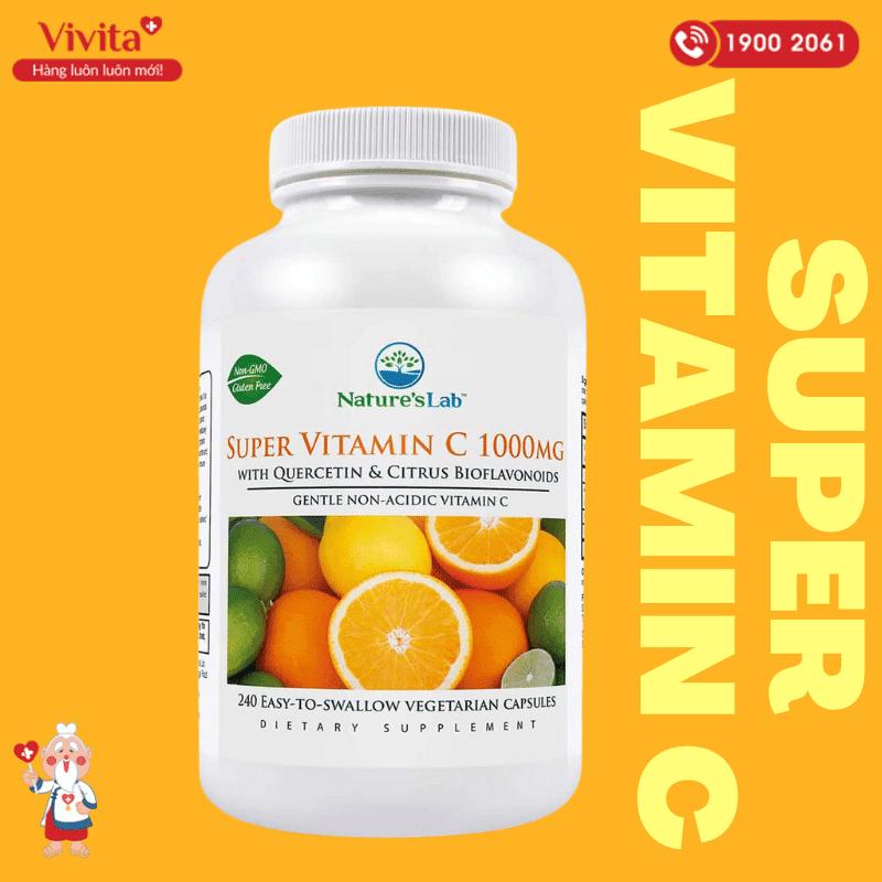 Có thể nói, viên uống Super Vitamin C từ Nature's Lab phù hợp và an toàn cho tất cả mọi đối tượng sử dụng là người trưởng thành.