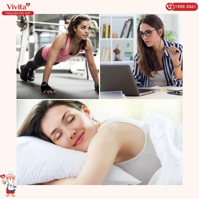 Thói quen sinh hoạt hàng ngày cũng là yếu tố ảnh hưởng rất lớn đến kết quả tập luyện của mỗi người.