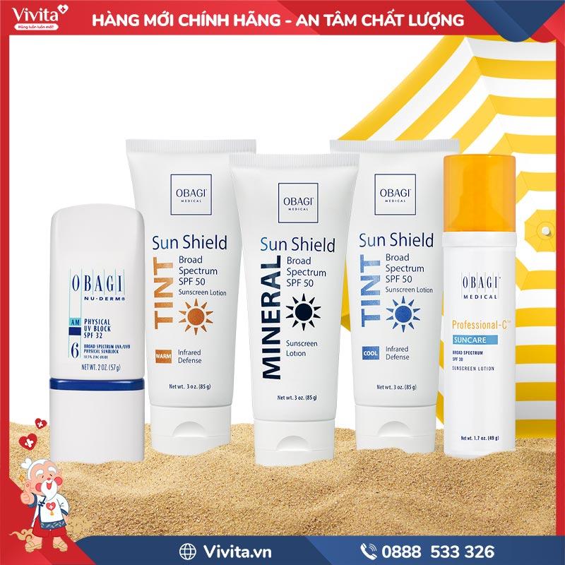 sử dụng kem chống nắng có độ SPF cao để bảo vệ làn da
