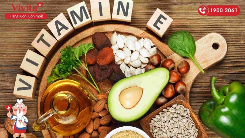 Uống vitamin E như thế nào để đẹp da