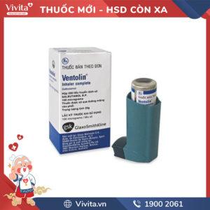 Thuốc xịt Ventolin Inhale