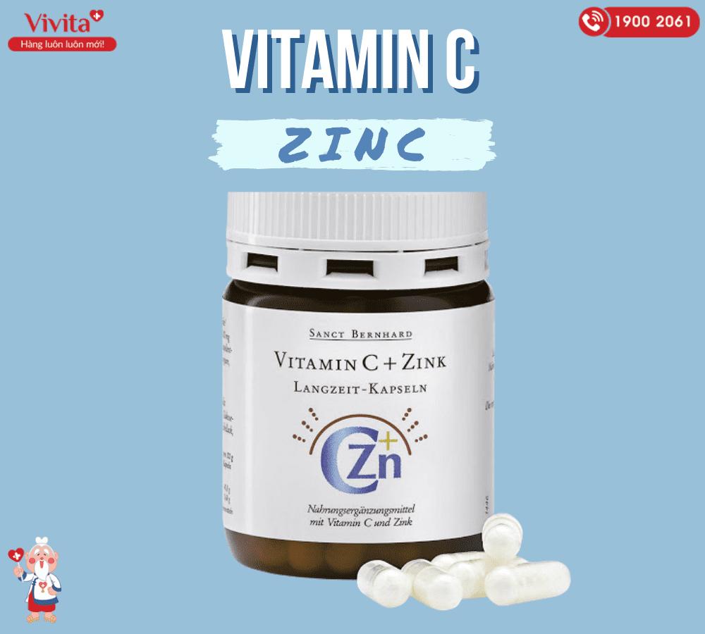 Sử dụng vitamin C+Zink là một trong những cách uống kẽm và vitamin C trị mụn tốt nhất.