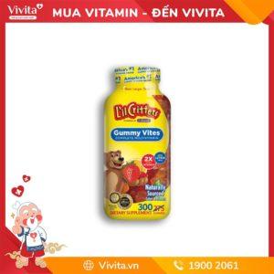 Kẹo gấu L'il Critters Gummy Vites Mutivitamin