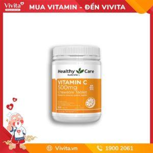 Viên Nhai Bổ Sung Vitamin C Healthy Care Vitamin C 500mg