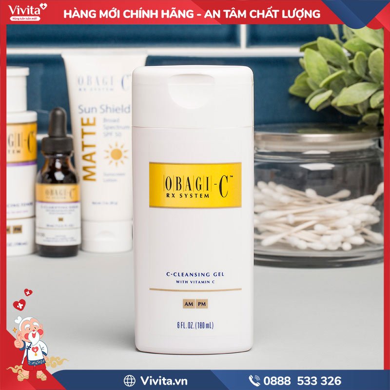 Sữa rửa mặt Obagi Vitamin C Cleansing Gel