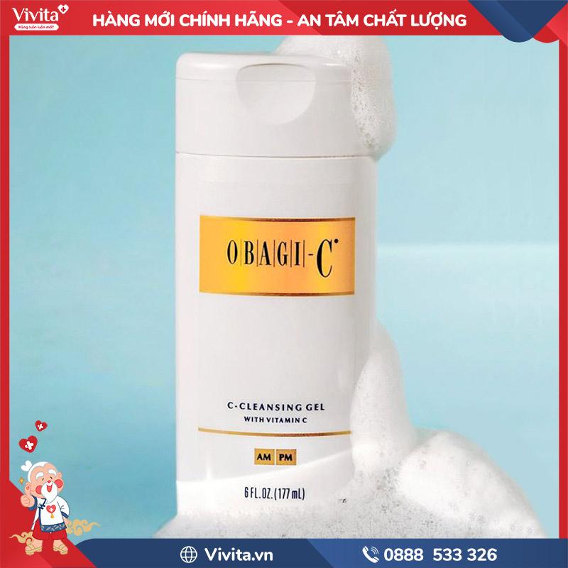 Sữa rửa mặt Obagi C-Cleansing Gel
